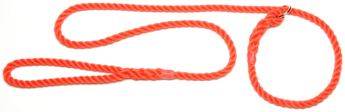 Rope Slip Collar Dogs Natural