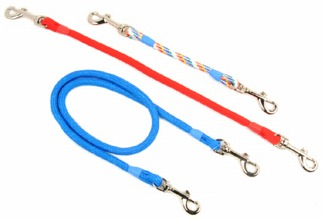 Double ended braid clip lead