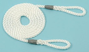 Calving/Lambing Rope 6mm 1.5m long (5') 2 loops