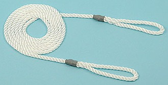 Calving/Lambing Rope 6mm 1.8m long (6') 2 loops