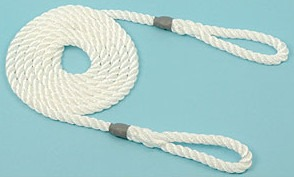 Calving/Lambing Rope 8mm 1.8m long (6') 2 loops