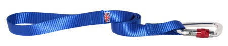 Deluxe Webbing Alpine Lead with Karabiner