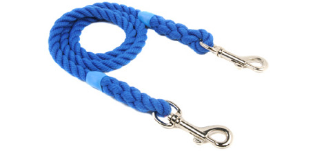 Double ended rope clip lead