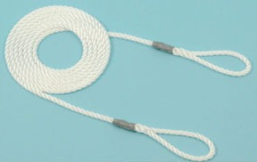 Lambing Rope 4mm 1.7m long 2 loops